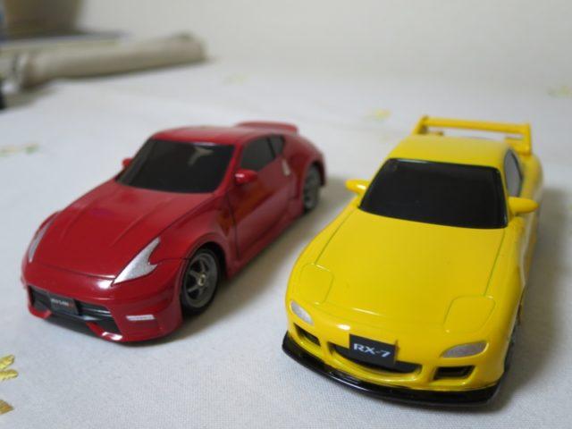 ドリフトパッケージナノ フェアレディZとRX-7