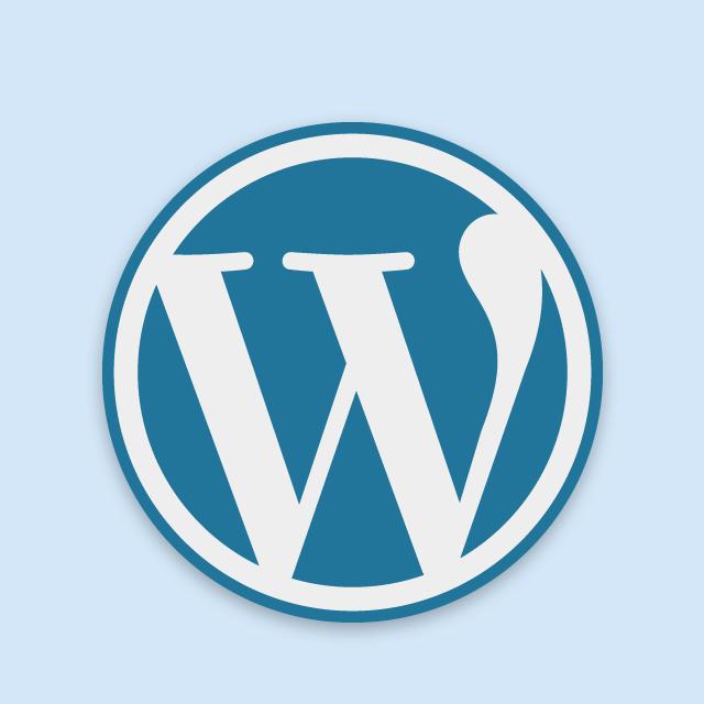 WordPressロゴ(青)