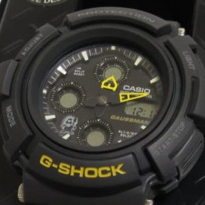 G-SHOCK ガウスマンの文字盤