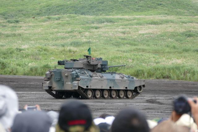 総合火力演習 89式装甲戦闘車