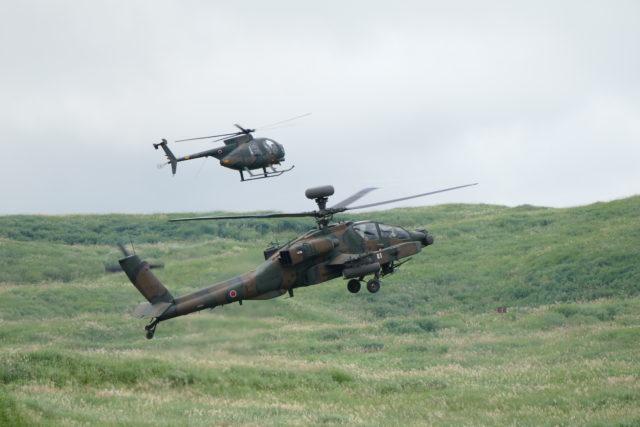 総合火力演習 AH-64D アパッチ
