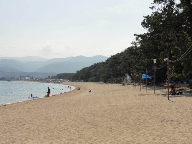 松原海水浴場全景
