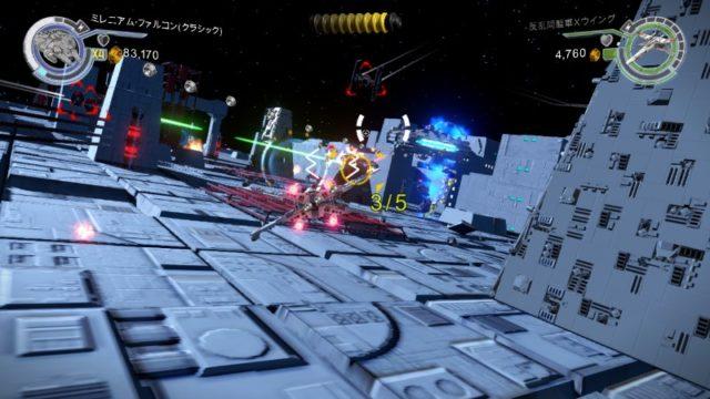 LEGO スター・ウォーズ フォースの覚醒 3Dシューティング