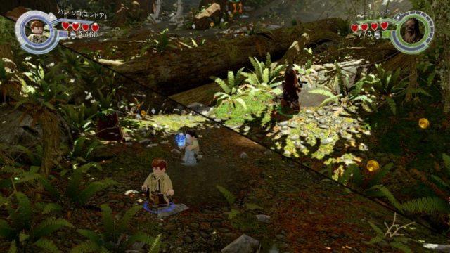 LEGO スター・ウォーズ フォースの覚醒 画面分割