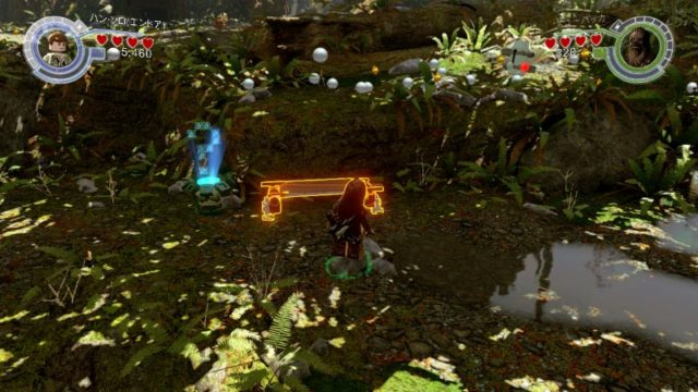 LEGO スター・ウォーズ フォースの覚醒 2プレイヤーの画面