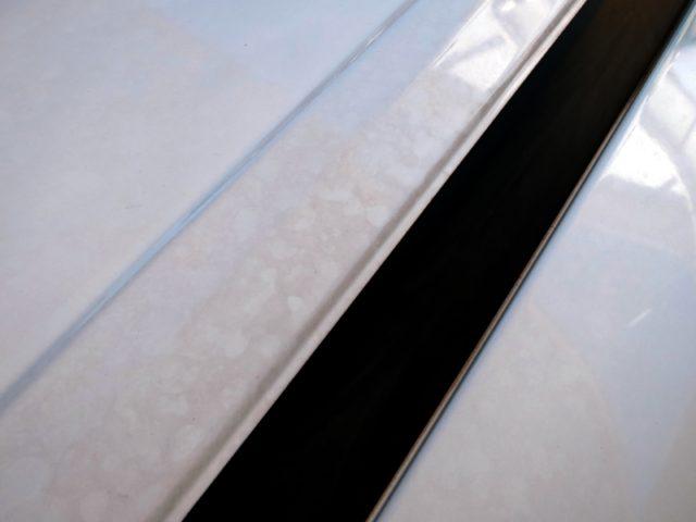 車ボディの水垢