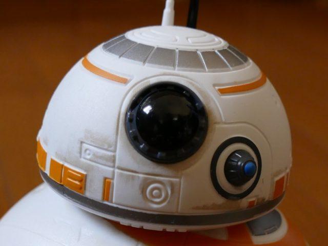 リモートコントロール BB-8の顔アップ