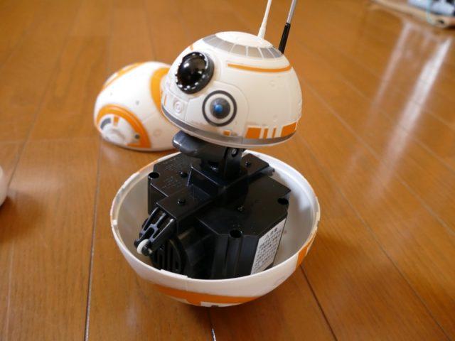 リモートコントロール BB-8の内部構造