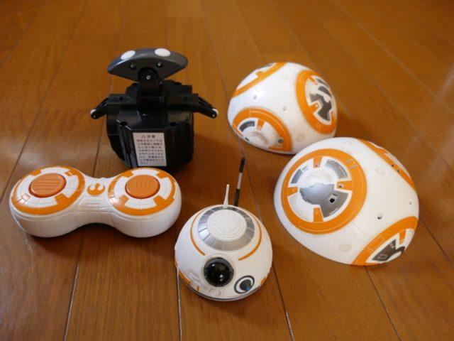 リモートコントロール BB-8 分解