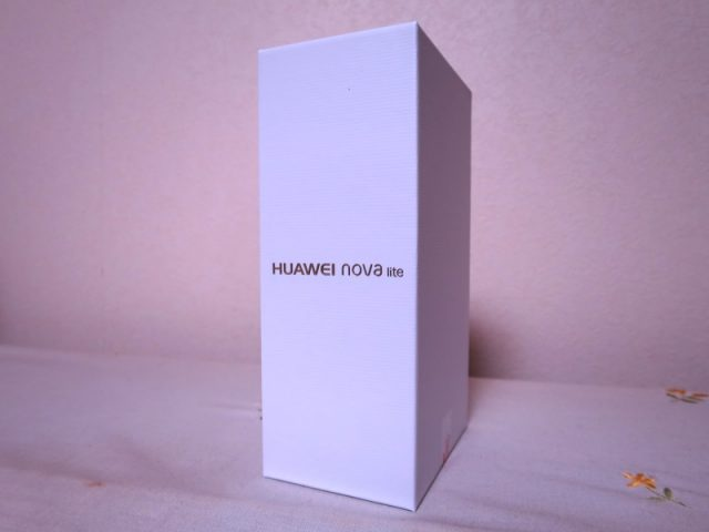 HUAWEI nova lite 化粧箱