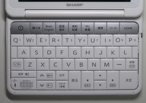 PW-SH4 キーボード
