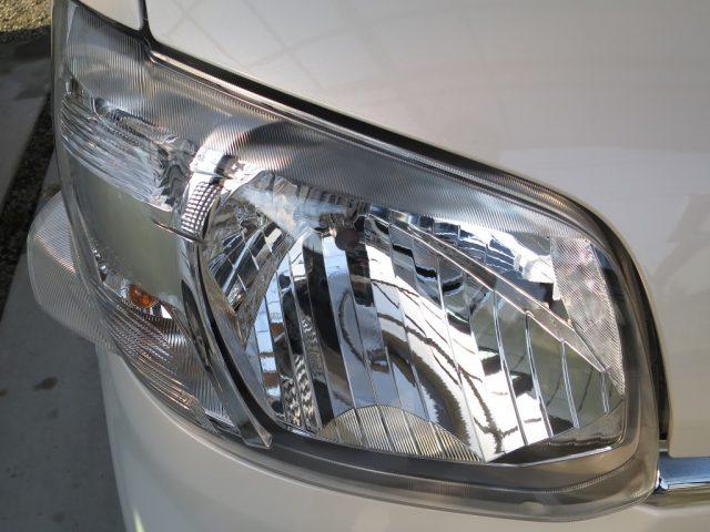 タント ガラスコーティング ヘッドライト