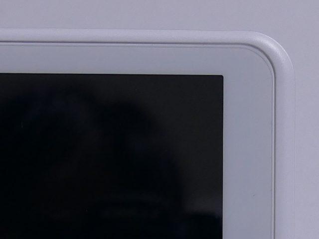 PW-SH4 液晶保護シート右上