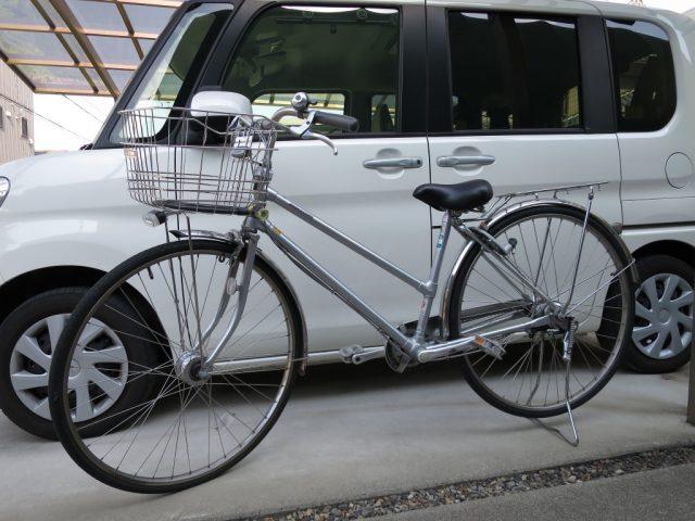 通学用27インチ自転車