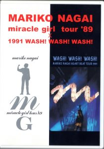 永井真理子 miracle girl tour'89