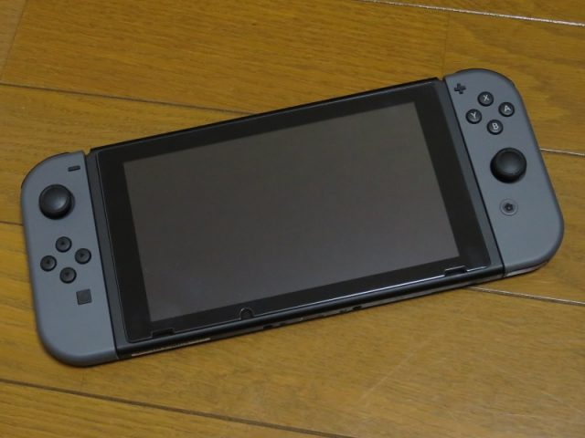 Nintendo Switch 携帯モード