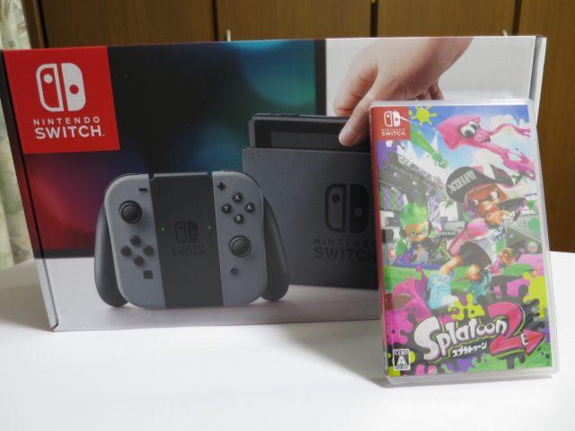 Nintendo Switchとスプラトゥーン2