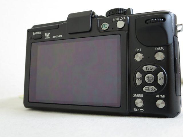 DMC-GX1 液晶画面