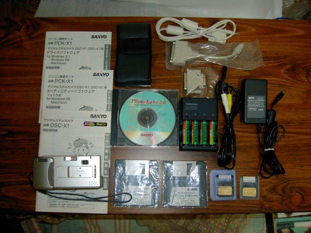 DSC-X1付属品等