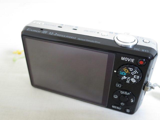 DSC-WX5 液晶画面