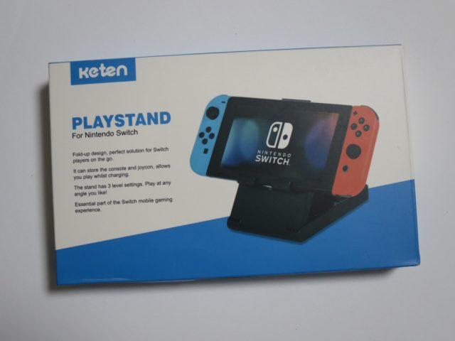 Keten Nintendo Switch スタンドの箱