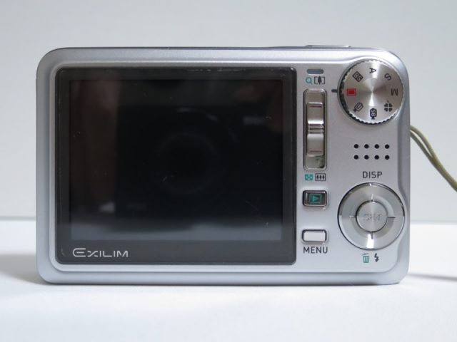 EX-V8 背面、液晶画面
