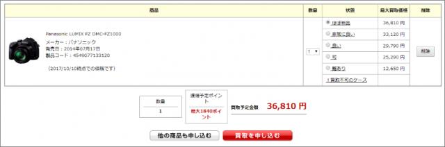キタムラ楽天買取 DMC-FZ1000