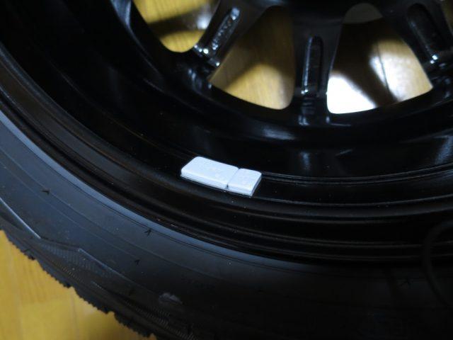自動車用タイヤのバランスウエイト