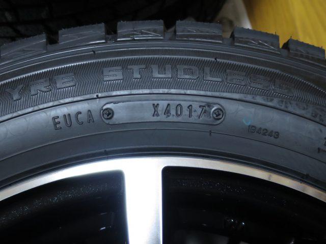 ダンロップ スタッドレスタイヤの製造年週記号