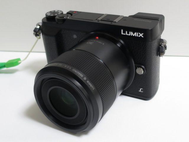 DMC-GX7MK2に30mmマクロレンズを装着