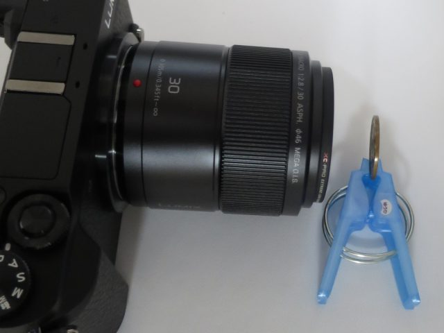 LUMIX 30mmマクロレンズの最短撮影