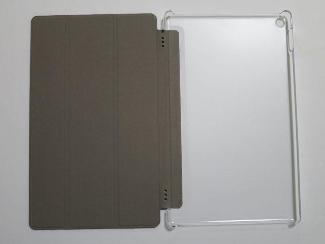 ATiC Fire HD 10 タブレット (Newモデル) 2017用 半透明