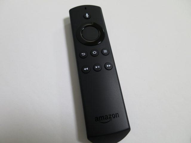 New fire TV音声認識リモコン