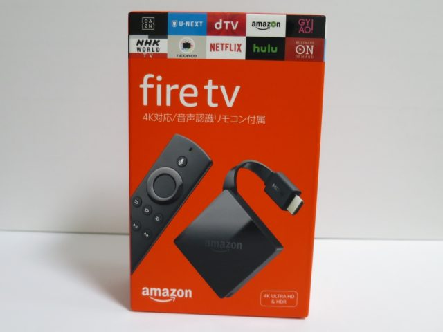New fire TV 箱