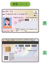 マイナンバーカードのイメージ