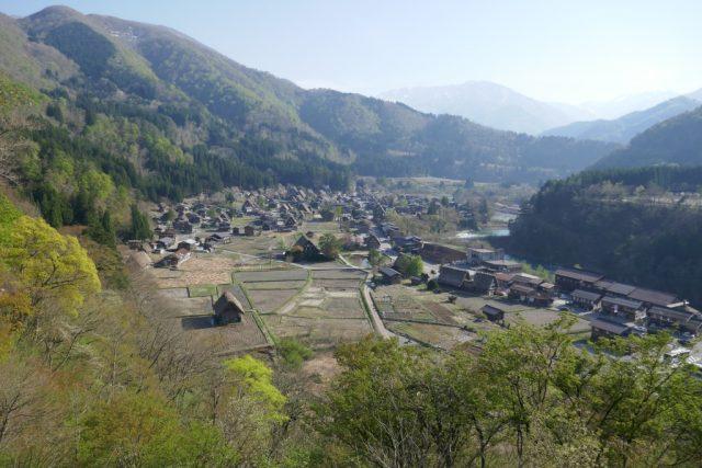 白川郷 展望台からの眺め