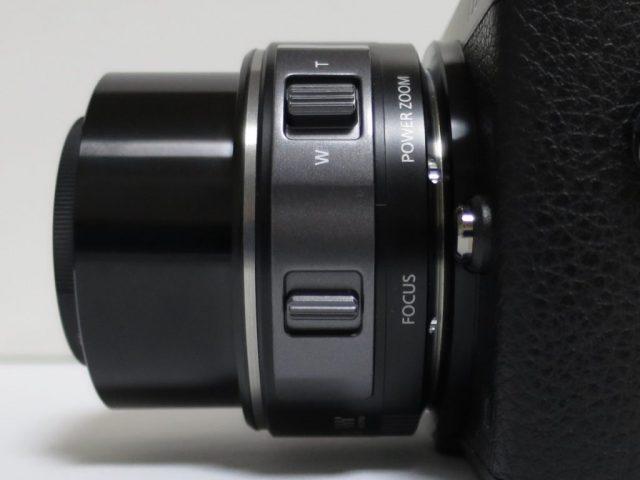 LUMIX PZ14-42mm ズームレバー