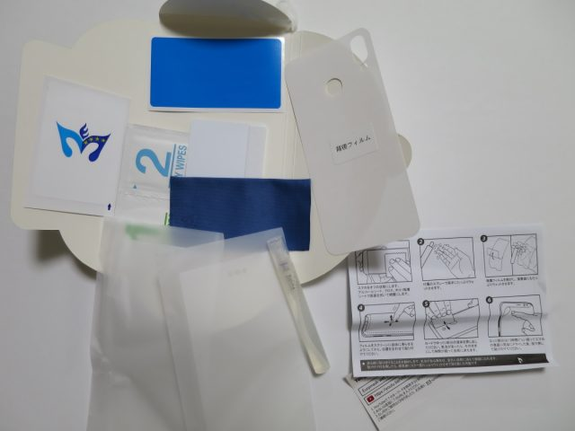 TPU素材の液晶保護フィルム 内容物