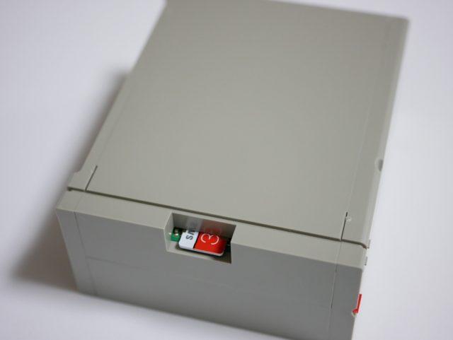 Raspberry Pi 2/3用 X68000風ケース 組み立て6