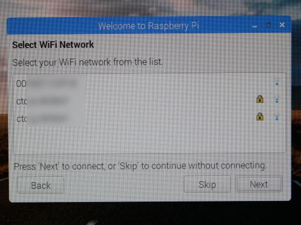 Raspbian初期設定 WiFiアンテナの選択