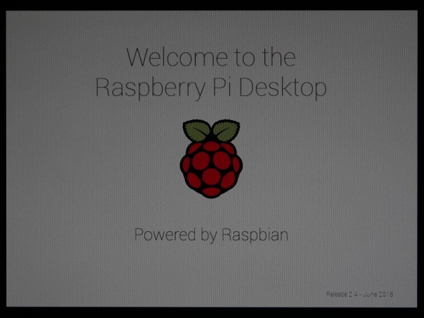 welcom to the raspberry pi desktop