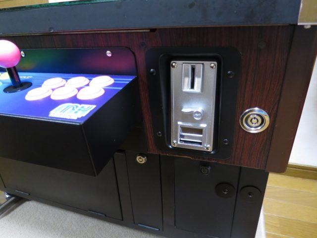 三木商事 テーブル筐体のコインセレクター