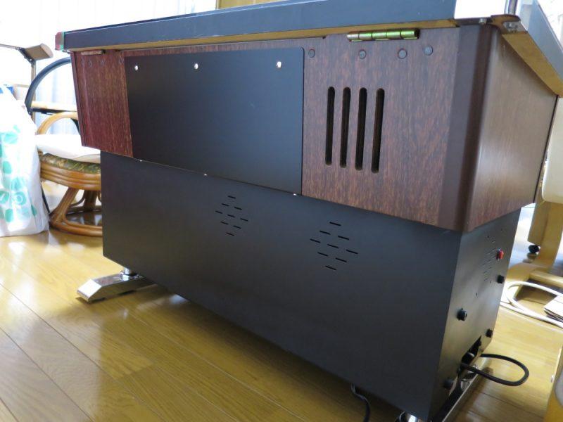 三木商事 テーブル筐体 背面