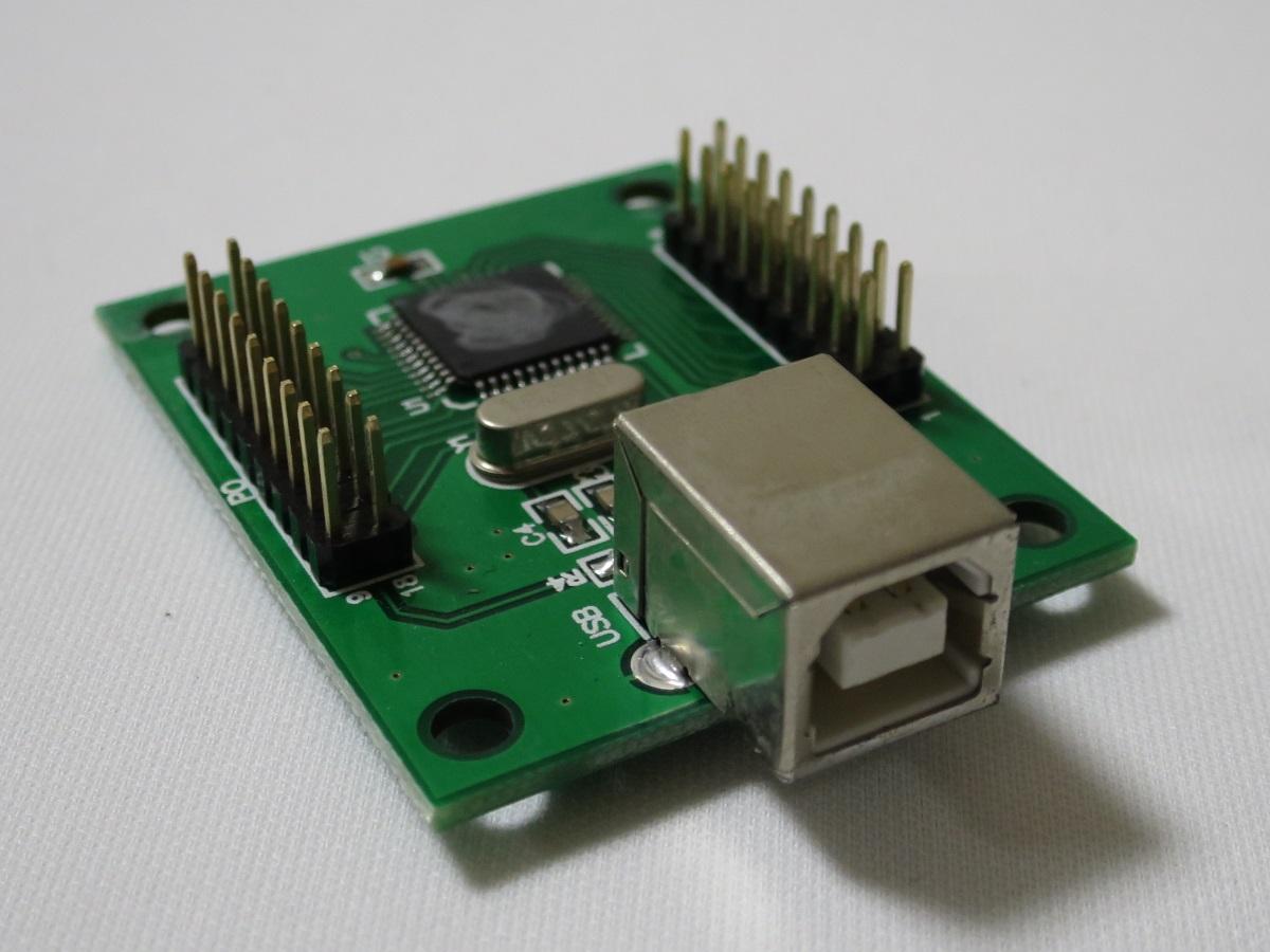 ジョイスティック USB変換機