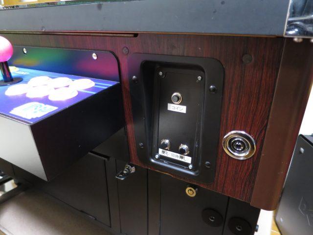テーブル筐体 コイン(クレジット)ボタン