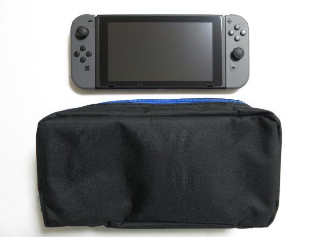 Nintendo Switch用おでかけボディバッグ(ワンショルダー) 大きさ比較