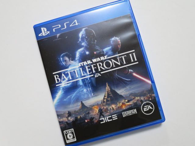 PS4用Star Wars バトルフロントIIのパッケージ