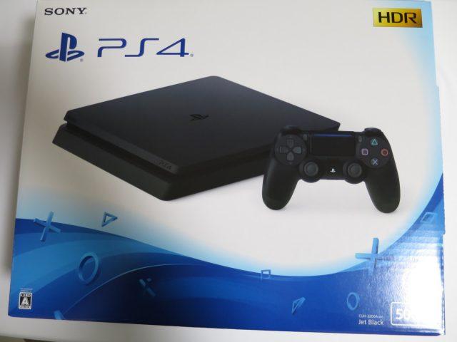 PlayStation4スタンダードの箱