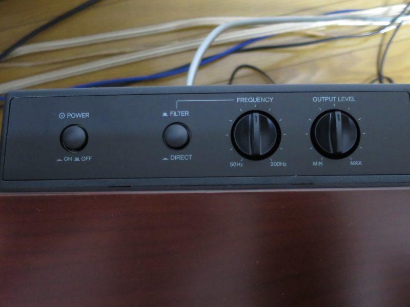 SL-D501の操作パネル