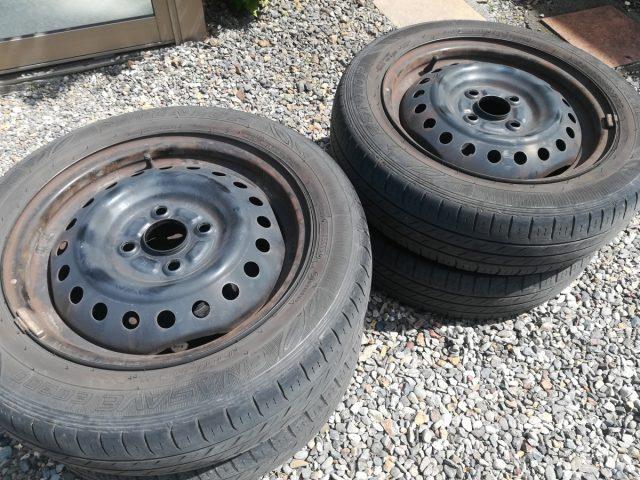 鉄ホイール付廃タイヤ